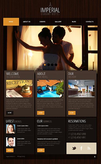 Hotels WordPress Theme