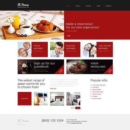 Dream Escape Inn WordPress Theme