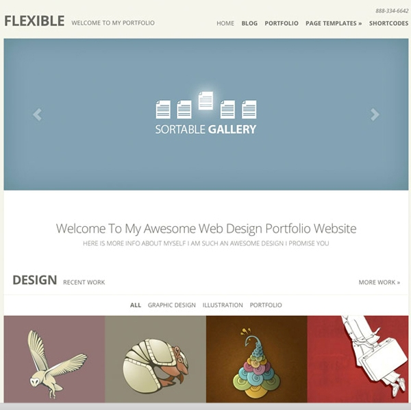 Flexible-WordPress-Theme