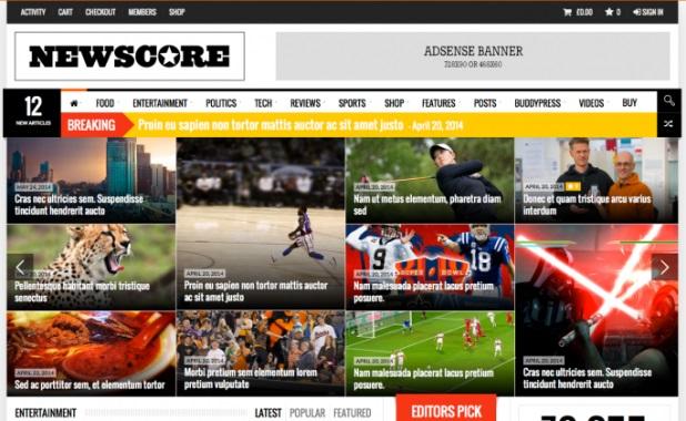 NewsCore-WordPress-Theme