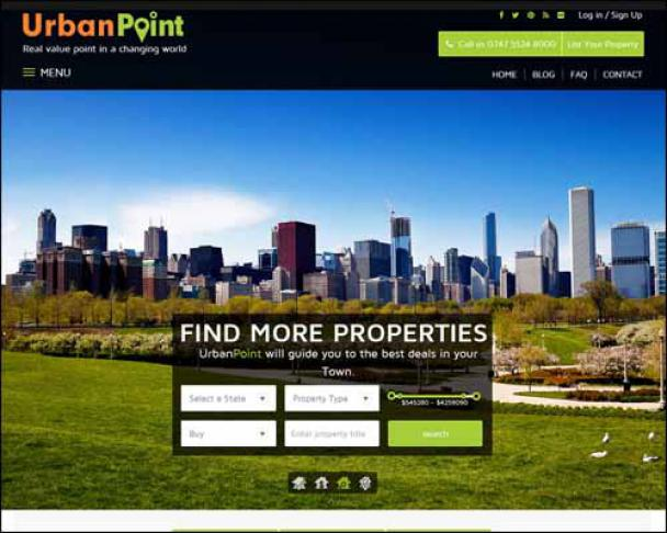 UrbanPoint_Responsive_Real_Estate_WordPress_Themes