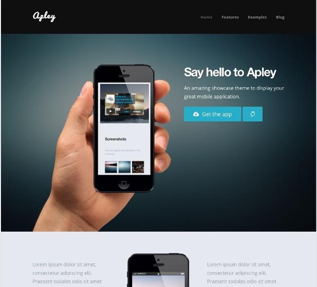 appley-showcase-wp-theme