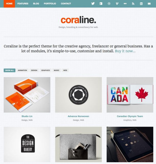 coraline-wordpress-theme