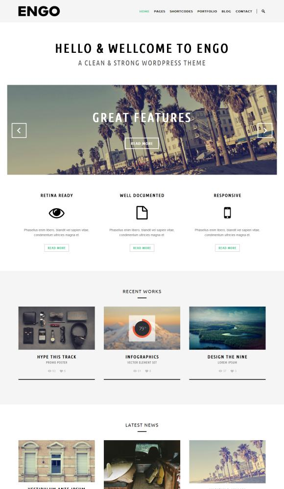 engo-smart-minimal-wordpress-theme