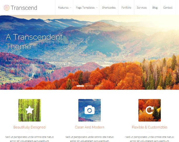 transcend-wordpress-theme
