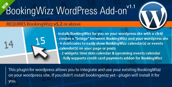 WordPress Booking Plugin