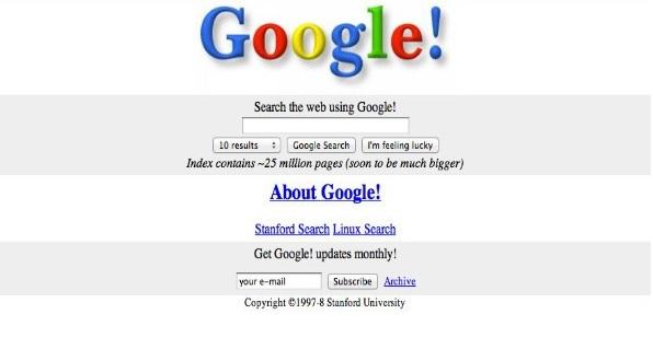 Old Google Design
