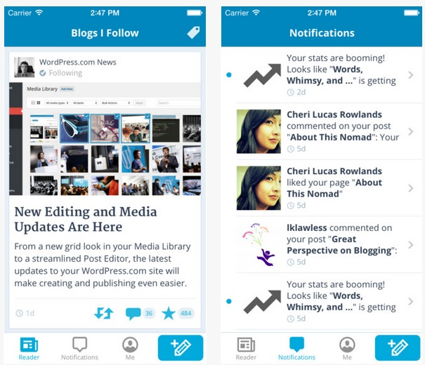 WordPress for iOS 4.3