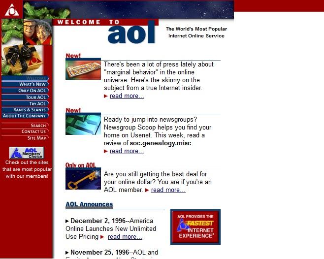 aol in 1996
