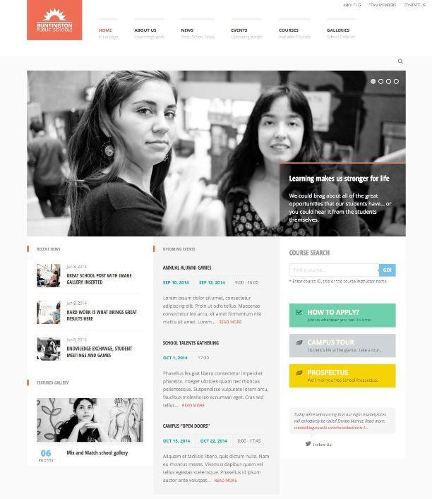 buntington-education-wordpress-theme