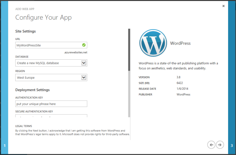 Scalable WordPress gallery list