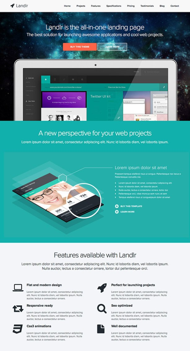 landlr WordPress Theme
