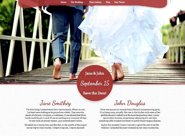my-wedding-template