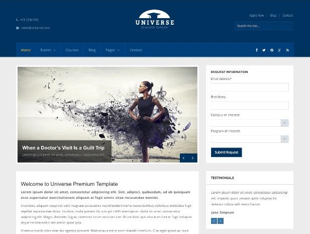universe-wordpress-theme