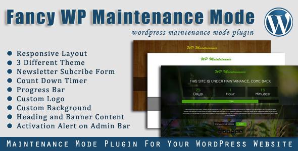 Fancy WP Maintenance Mode
