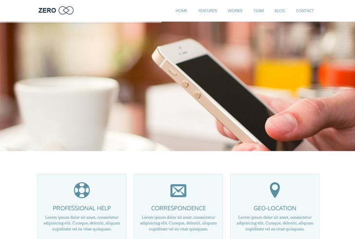 Zero Home Page