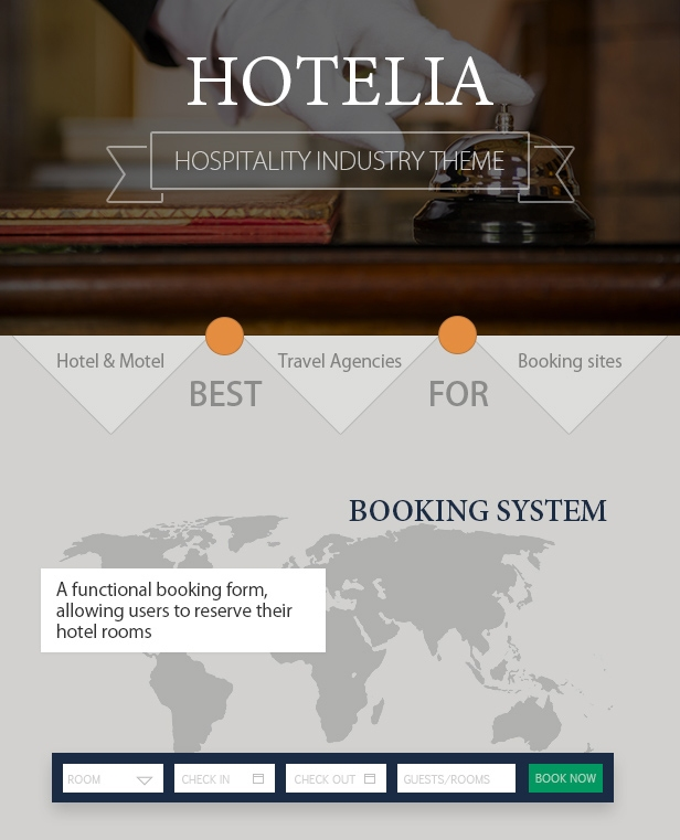 Hotelia Booking System