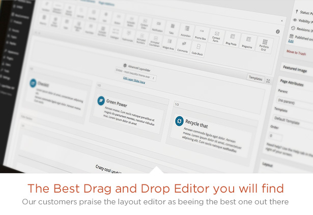 Drag and DRop Editor- Enfold Theme