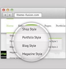 Avada Theme  Page Layouts