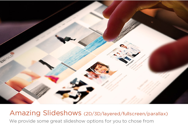 Amazing Slideshows in Enfold Theme