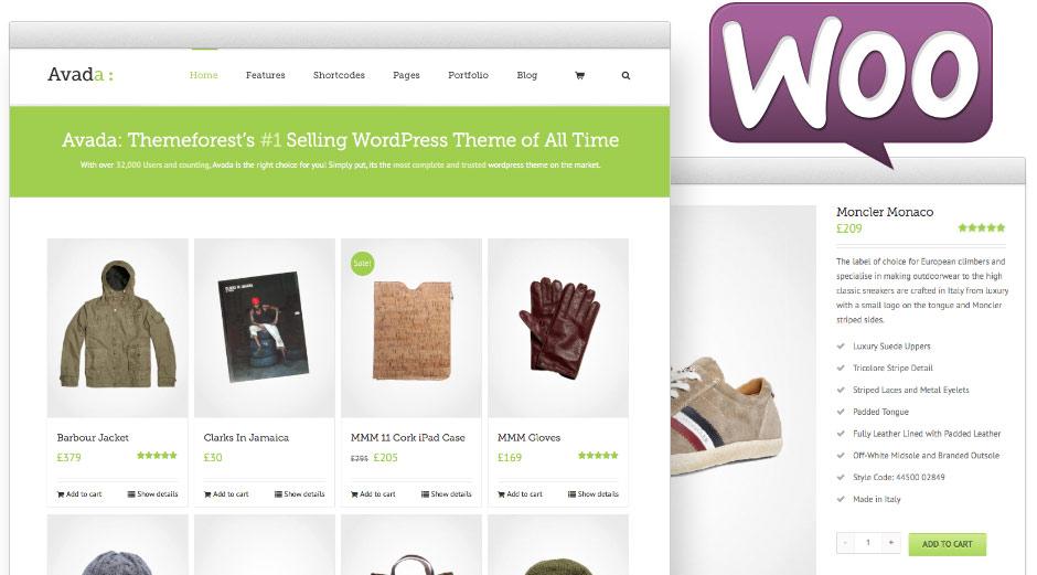 Avada Theme Woo Commerce