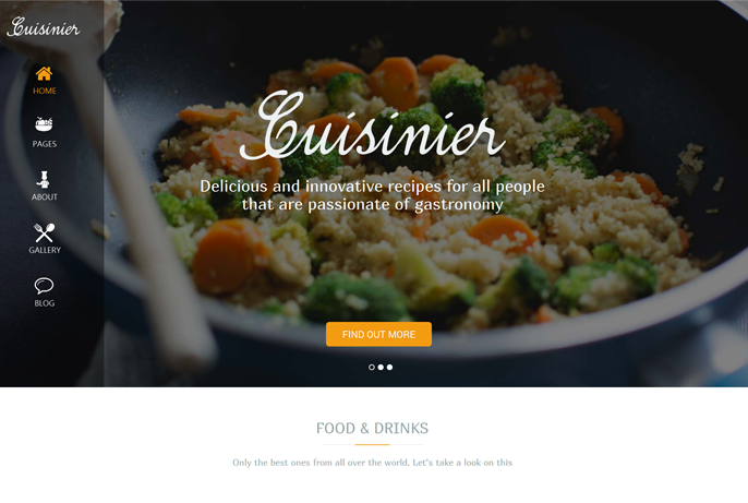 Cuisinier Home Page