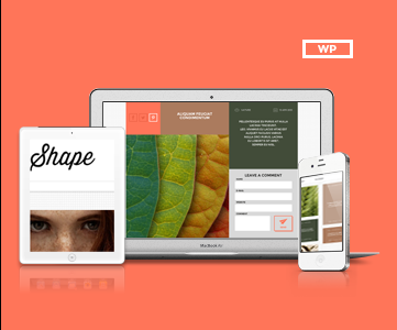 Shape Theme Responsive Design