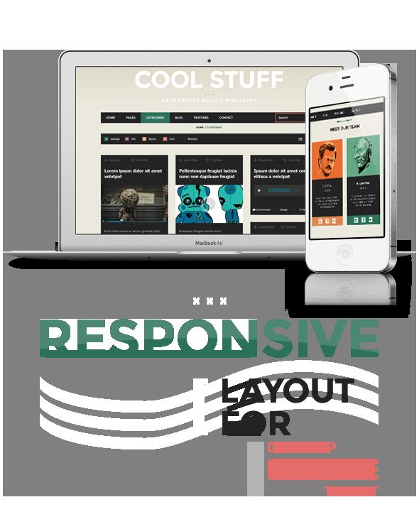 CoolStuff Responsive Design