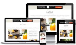Foodie Pro theme responsive layout