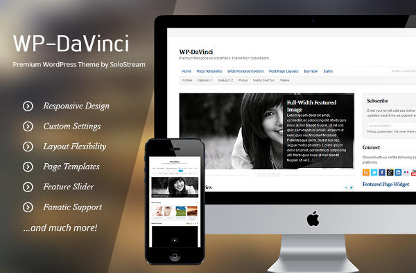 WP-DaVinci Premium WordPress Theme