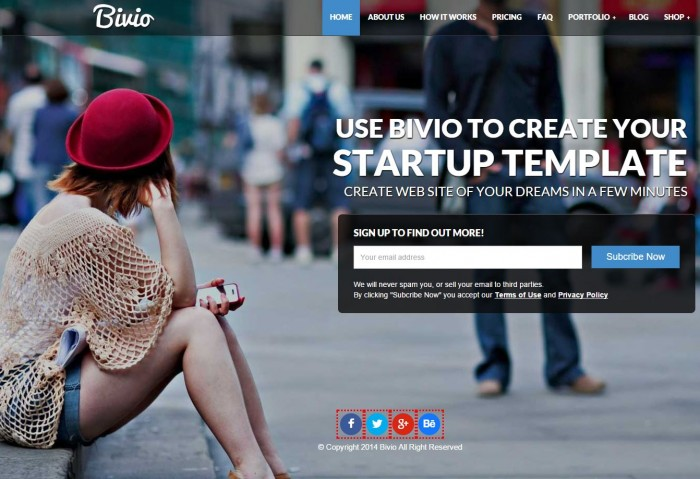 WordPress Themes for Tech Startups